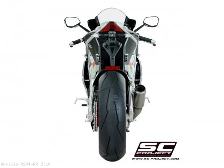 CR-T Exhaust by SC-Project Aprilia / RSV4 RR / 2018