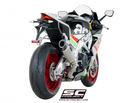 Race Oval Exhaust by SC-Project
