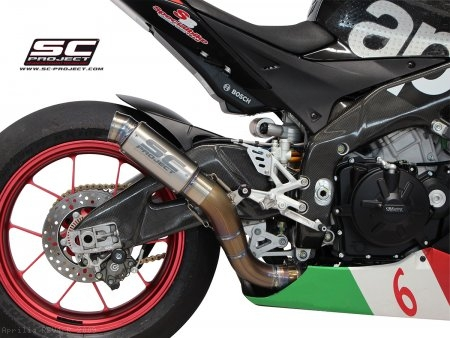 GP70-R Exhaust by SC-Project Aprilia / RSV4 R / 2009