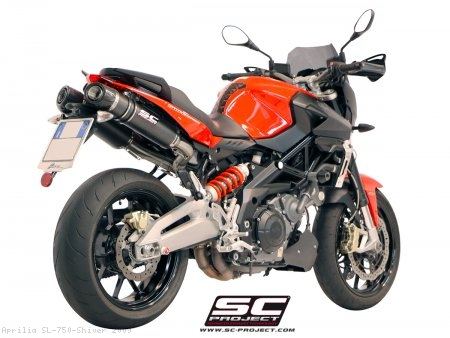 Oval Exhaust by SC-Project Aprilia / SL 750 Shiver / 2009