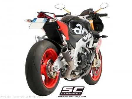 CR-T Exhaust by SC-Project Aprilia / Tuono V4 1100 RR / 2015