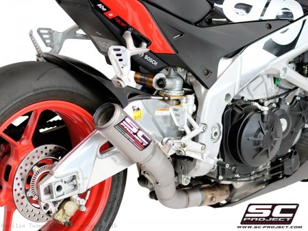 CR-T Exhaust by SC-Project Aprilia / Tuono V4 1100 Factory / 2016
