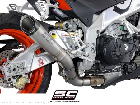 S1 Exhaust by SC-Project Aprilia / Tuono V4 1100 Factory / 2016