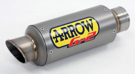GP2 Dark Stainless Exhaust by Arrow