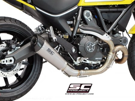 Conic Exhaust by SC-Project Ducati / Scrambler 800 Mach 2.0 / 2018