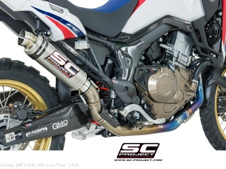 GP65 Exhaust by SC-Project Honda / CRF1000L Africa Twin / 2018
