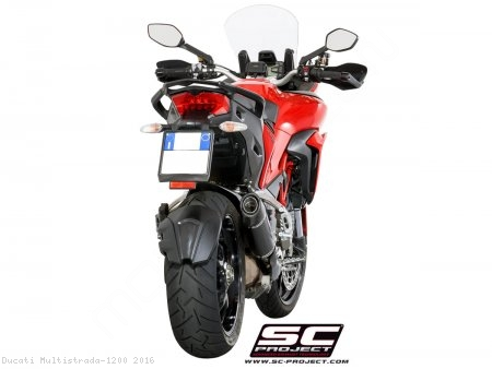 Oval Exhaust by SC-Project Ducati / Multistrada 1200 / 2016