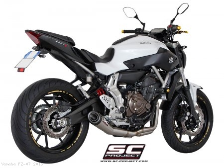 Conic Exhaust by SC-Project Yamaha / FZ-07 / 2015