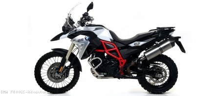 Maxi Race-Tech Exhaust by Arrow BMW / F800GS Adventure / 2014