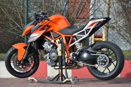 BURSIG Racing Stand with Wheels and Bike Adapter Ducati / Scrambler 800 Street Classic / 2018