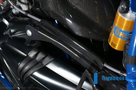 Carbon Fiber Brake Line Cover by Ilmberger Carbon BMW / R nineT Urban GS / 2018