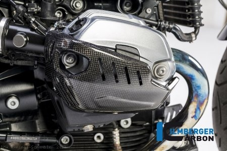 Carbon Fiber Head Cover by Ilmberger Carbon BMW / R nineT Scrambler / 2017