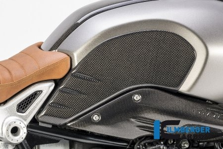 Carbon Fiber Side Tank Cover by Ilmberger Carbon BMW / R nineT Scrambler / 2019