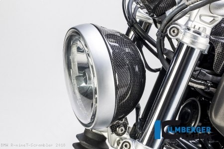 Carbon Fiber Headlight Housing by Ilmberger Carbon BMW / R nineT Scrambler / 2018