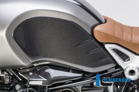 Carbon Fiber Side Tank Cover by Ilmberger Carbon