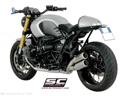 CR-T Exhaust by SC-Project BMW / R nineT Racer / 2018