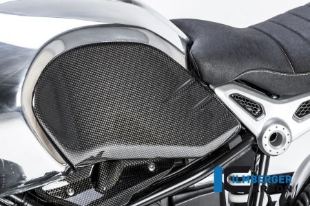Carbon Fiber Side Tank Cover by Ilmberger Carbon BMW / R nineT Urban GS / 2018