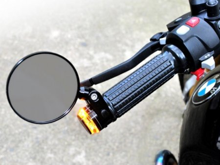 M-Rear 75 Bar End Mirror by Motogadget