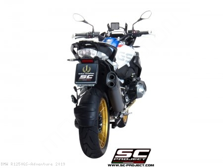 """Adventure"" Exhaust by SC-Project BMW / R1250GS Adventure / 2019"