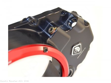 Wet Clutch Clear Cover Oil Bath by Ducabike Ducati / Monster 821 / 2016
