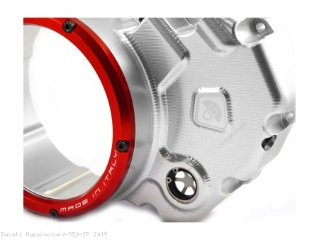 Wet Clutch Clear Cover Oil Bath by Ducabike Ducati / Hypermotard 950 SP / 2019