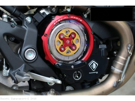 Wet Clutch Clear Cover Oil Bath by Ducabike Ducati / Supersport S / 2018