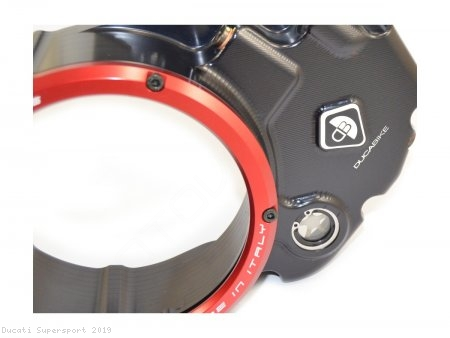 Wet Clutch Clear Cover Oil Bath by Ducabike Ducati / Supersport / 2019