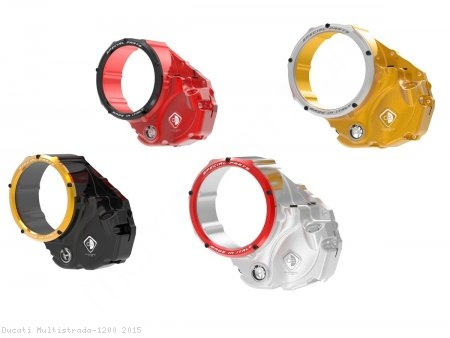 Clear Clutch Cover Oil Bath by Ducabike Ducati / Multistrada 1200 / 2015