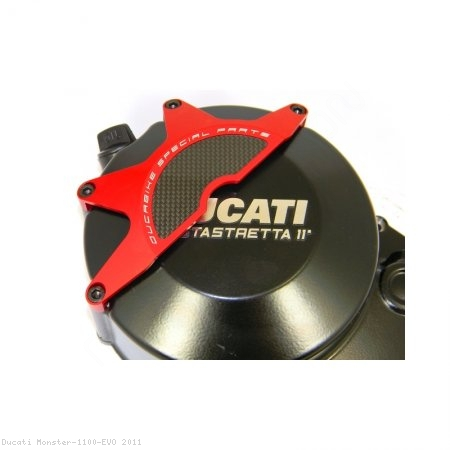 Wet Clutch Case Cover Guard by Ducabike Ducati / Monster 1100 EVO / 2011