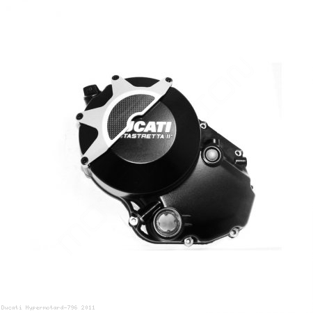 Wet Clutch Case Cover Guard by Ducabike Ducati / Hypermotard 796 / 2011