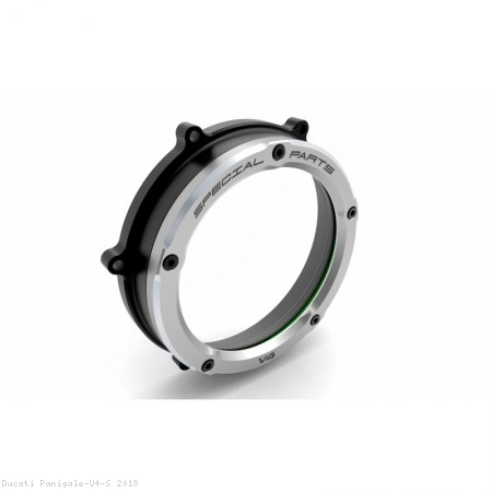 Clear Clutch Cover Oil Bath by Ducabike Ducati / Panigale V4 S / 2018
