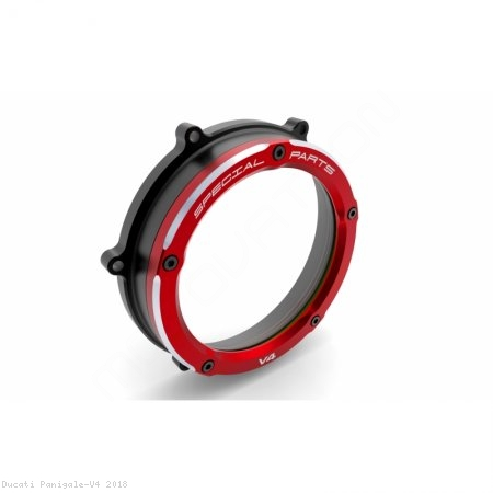 Clear Clutch Cover Oil Bath by Ducabike Ducati / Panigale V4 / 2018