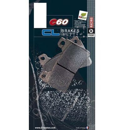 C60 Race Compound Front Brake Pads by CL Brakes