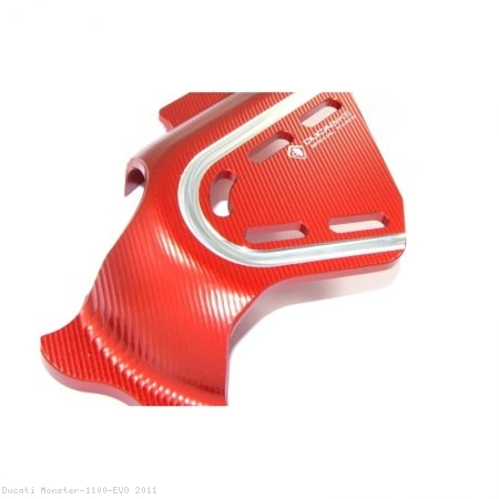 Billet Aluminum Sprocket Cover by Ducabike Ducati / Monster 1100 EVO / 2011