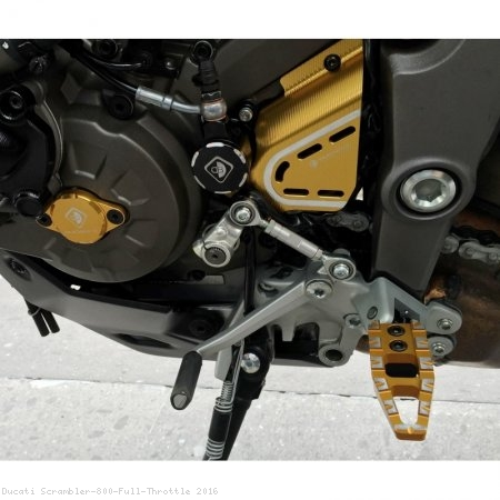 Billet Aluminum Sprocket Cover by Ducabike Ducati / Scrambler 800 Full Throttle / 2016