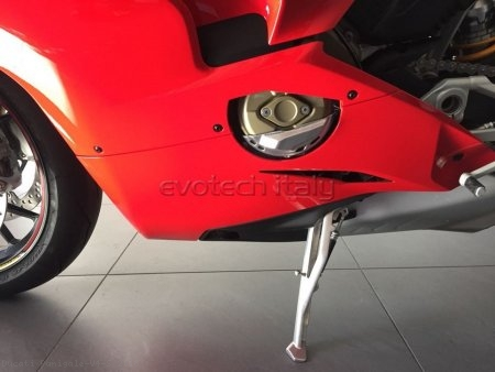 Left Side Engine Case Guard by Evotech Italy Ducati / Panigale V4 S / 2018