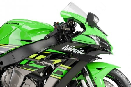 Downforce Spoiler Winglets by Puig Kawasaki / Ninja ZX-10R / 2011