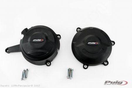 Case Cover Engine Guards by Puig Ducati / 1199 Panigale R / 2017