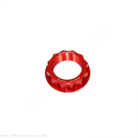 Rear Wheel Axle Nut by Ducabike Ducati / 959 Panigale Corse / 2018