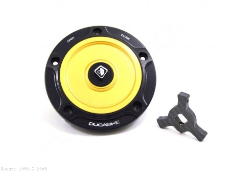 Fuel Tank Gas Cap by Ducabike Ducati / 1098 S / 2009