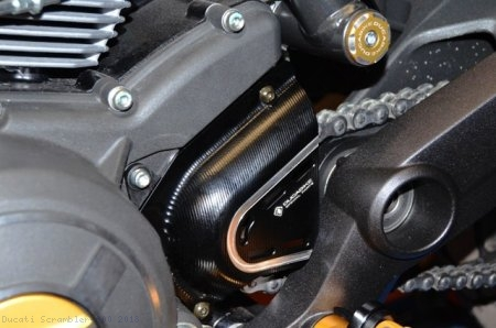Billet Aluminum Sprocket Cover by Ducabike Ducati / Scrambler 800 / 2018