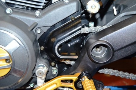 Billet Aluminum Sprocket Cover by Ducabike Ducati / Scrambler 800 / 2015