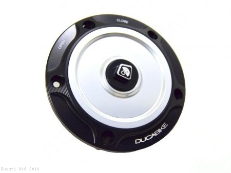 Fuel Tank Gas Cap by Ducabike Ducati / 848 / 2010