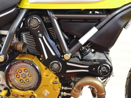 Billet Aluminum Timing Belt Covers by Ducabike Ducati / Scrambler 800 Cafe Racer / 2017