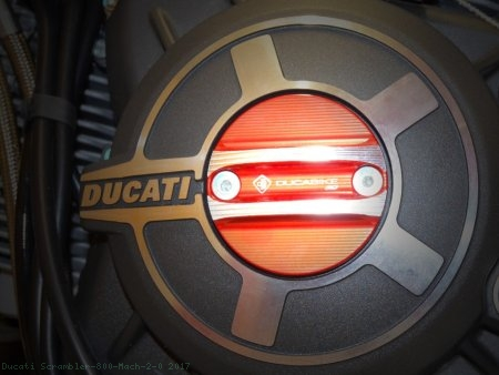 Timing Inspection Cover by Ducabike Ducati / Scrambler 800 Mach 2.0 / 2017