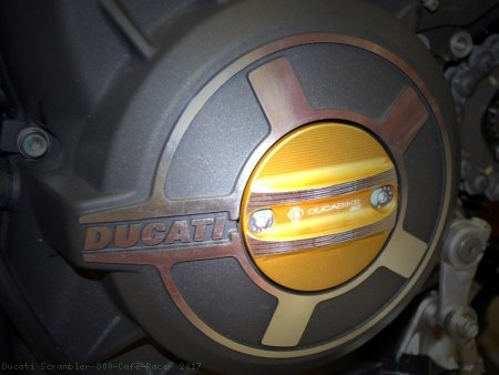 Timing Inspection Cover by Ducabike Ducati / Scrambler 800 Cafe Racer / 2017