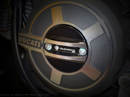 Timing Inspection Cover by Ducabike Ducati / Scrambler 800 Mach 2.0 / 2019