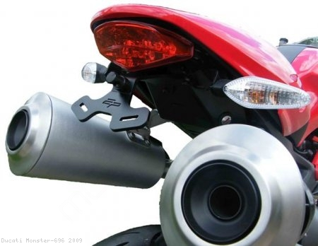 Tail Tidy Fender Eliminator by Evotech Performance Ducati / Monster 696 / 2009