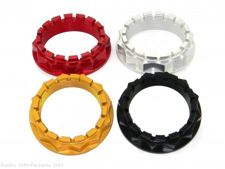 Sprocket Carrier Side Rear Axle Nut by Ducabike Ducati / 1199 Panigale / 2013