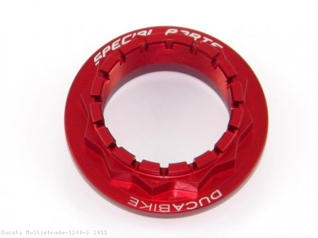 Rear Wheel Axle Nut by Ducabike Ducati / Multistrada 1200 S / 2013